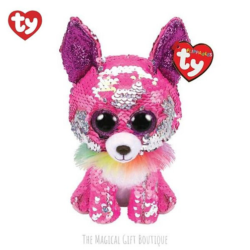 Charmed the Chihuahua Flippable Ty Beanie Boo