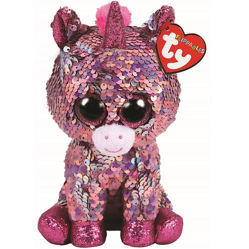 Sparkle the Unicorn Flippable Ty Beanie Boo