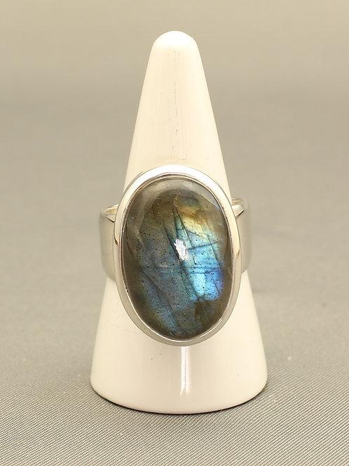 A-Grade Labradorite Ring