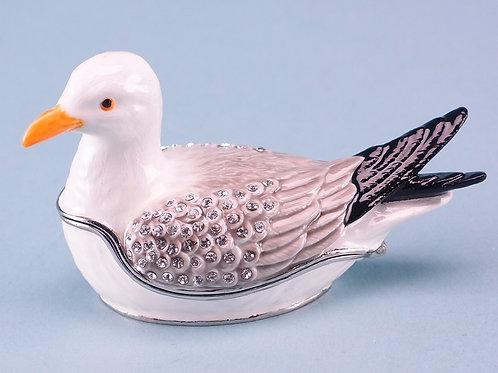 Cloisonne Seagull