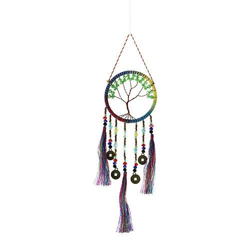 Jewelled Rainbow Tree Dreamcatcher