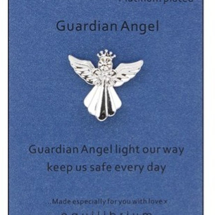 """""""Light Our Way"""" Guardian Angel Pin"""