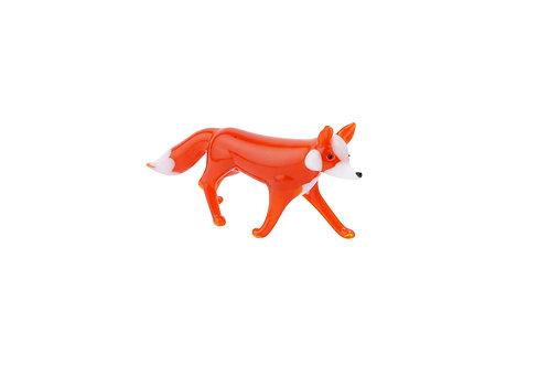 Fox and Fern Glass Fox