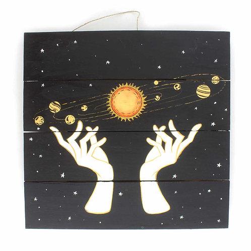 Celestial Hands Plaque