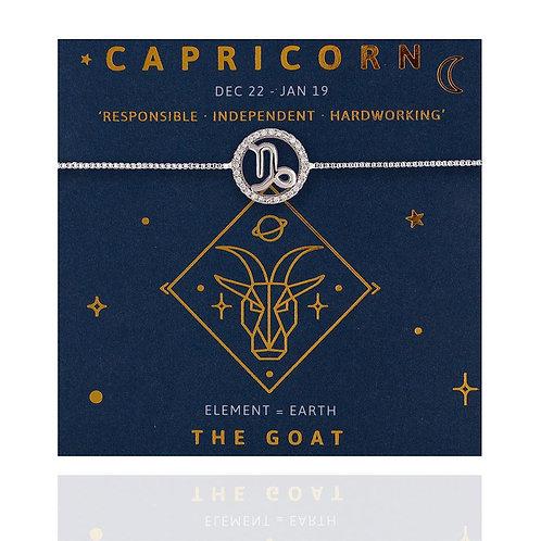 Capricorn Life Charm Bracelet