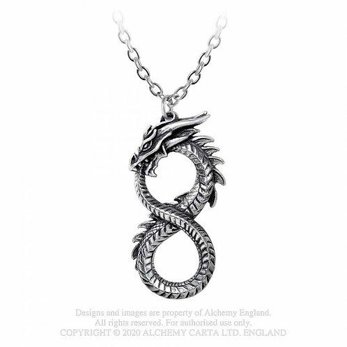 Infinity Dragon Pendant