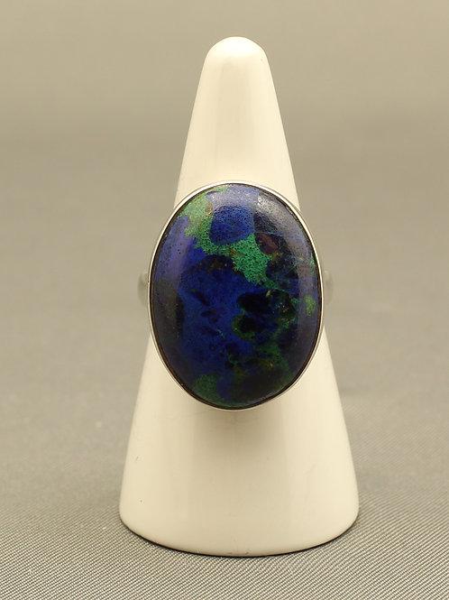 Malachite/Azurite Ring