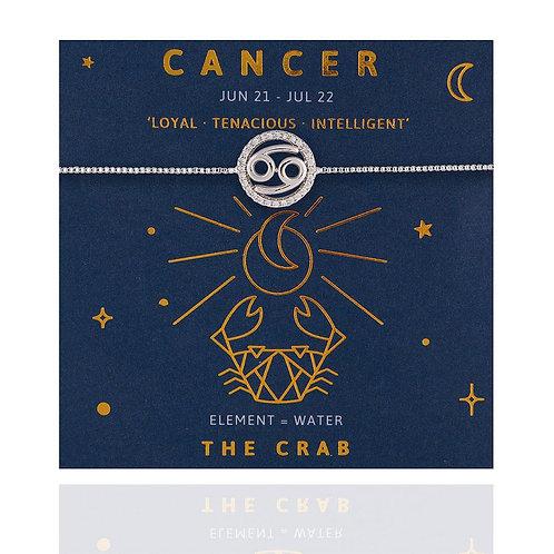 Cancer Life Charm Bracelet