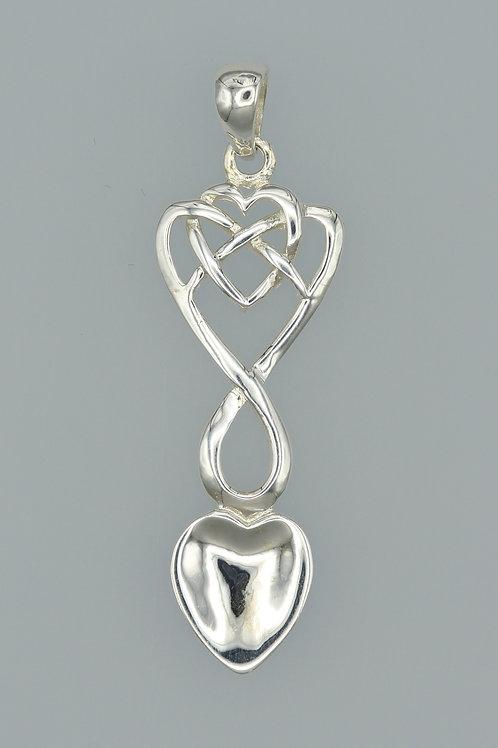 Celtic Lovespoon Pendant