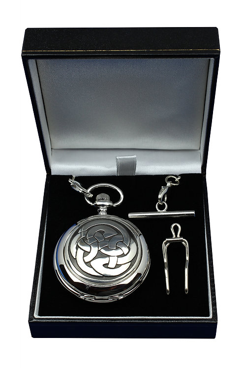 Celtic Lughs Knot Pocket Watch