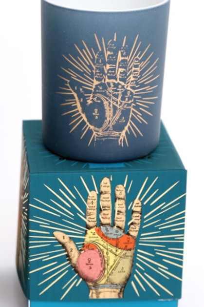 Palmistry Candle Pot