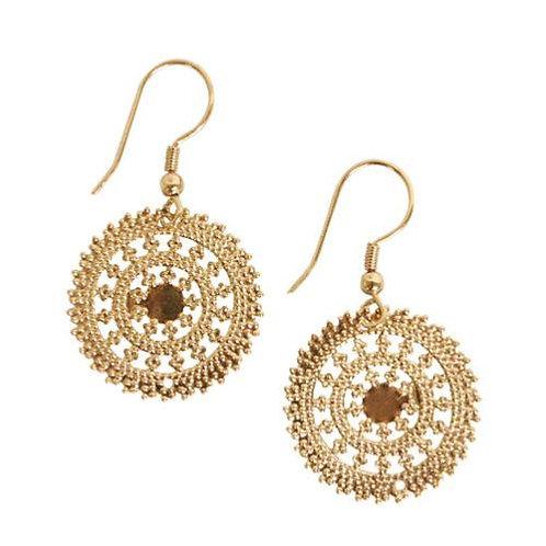 Delicate Circle Earrings