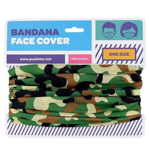 Camouflage Multi-functional Bandana