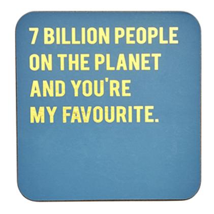 7 Billion People...Coaster