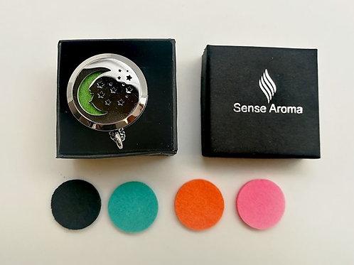 Moon and Stars Aroma Pendant
