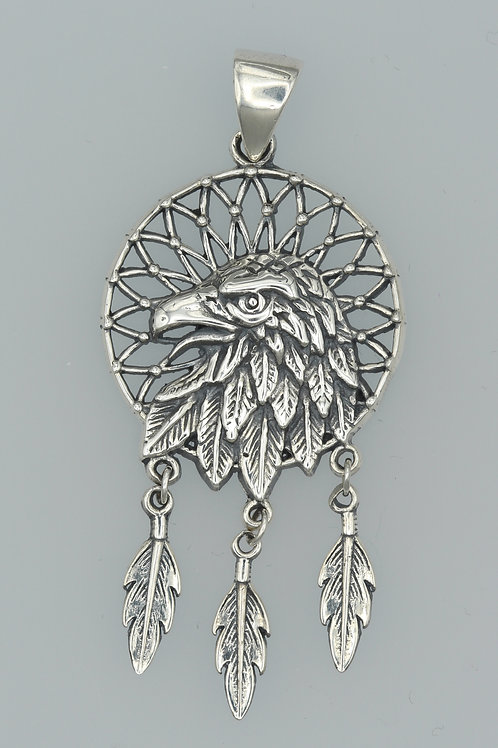 Eagle Dreamcatcher Pendant