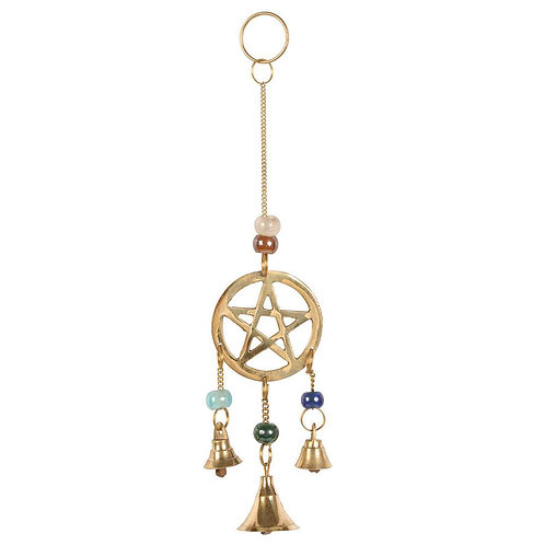 Pentacle Brass Chime