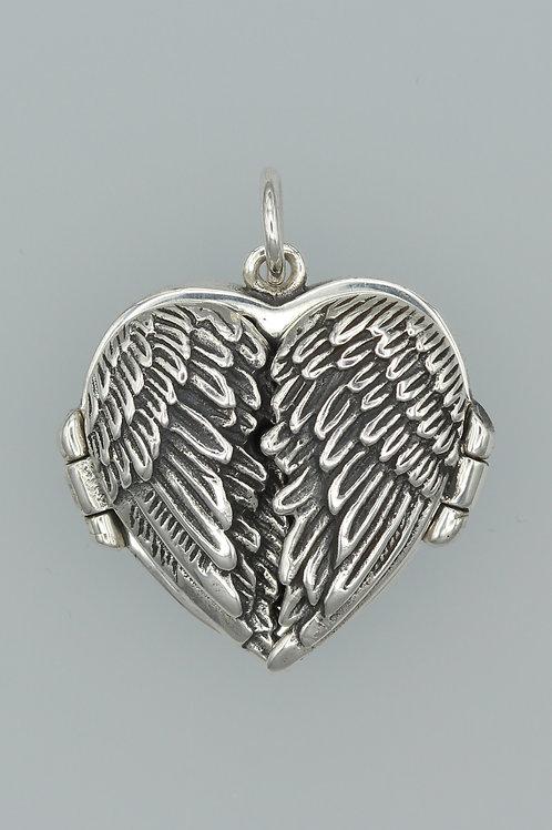 Angel Wings Locket Pendant