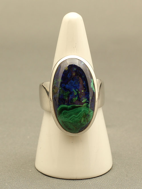 Malachite/Azurite Ring