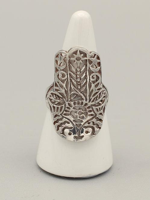 Hamsa Hand Ring