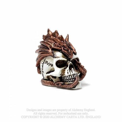 Dragon Keeper's Skull Miniature