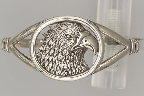 Eagle Head Cuff Bangle