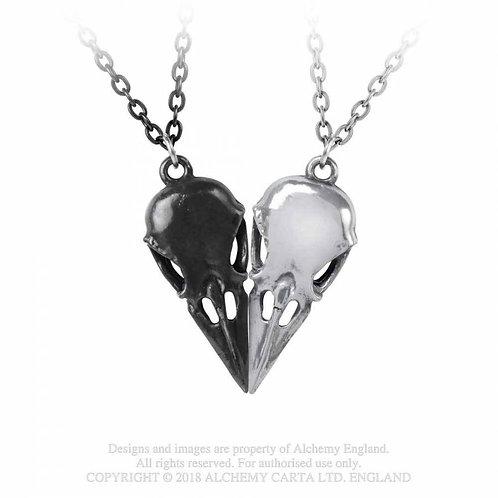 Coeur Crane - Couple's Friendship Necklace