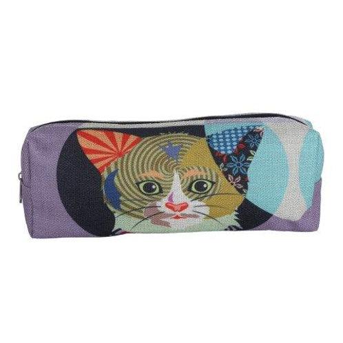 Cat Pencil Case/Cosmetic Bag