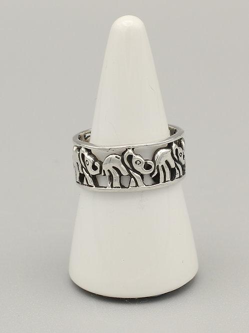 Elephant Band Ring