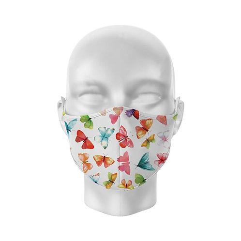 Butterflies Reusable Adult Face Covering