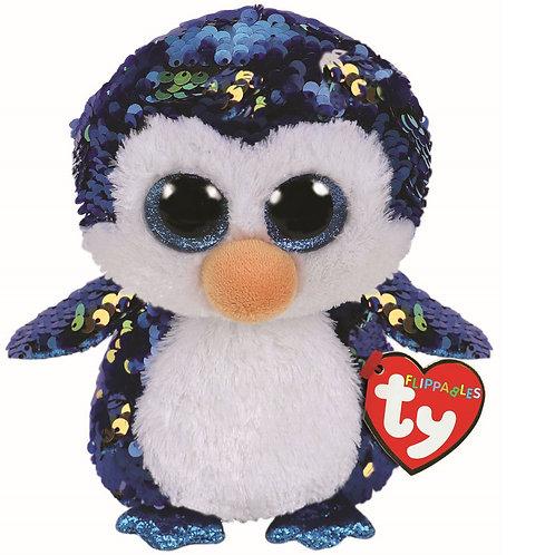 Payton the Penguin Flippable Ty Beanie Boo