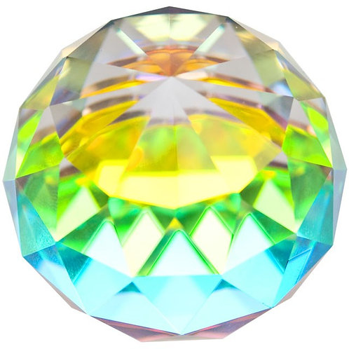 Rainbow Crystal Sphere