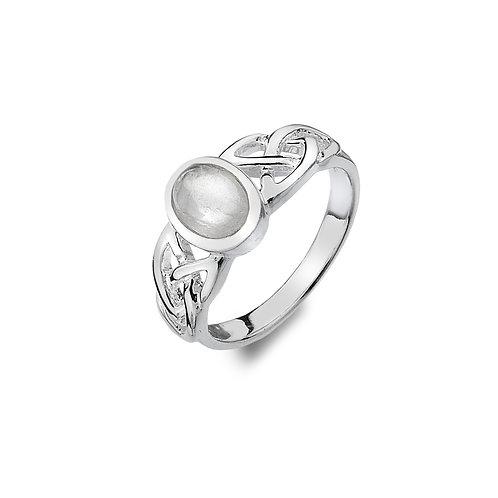 Celtic Moonstone Ring