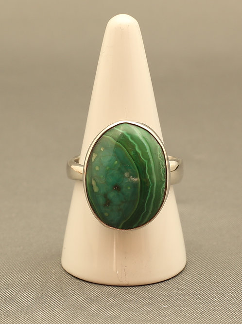 Malachite/Chrysocolla Ring