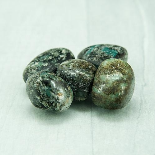 Green Mica Tumblestone