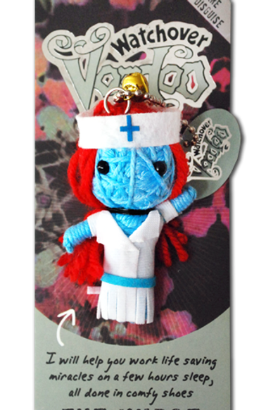 The Nurse Watchover Voodoo Doll
