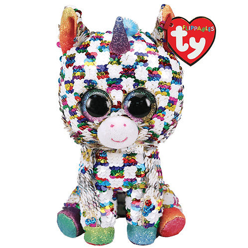 Cosmo the Unicorn Flippable Ty Beanie Boo