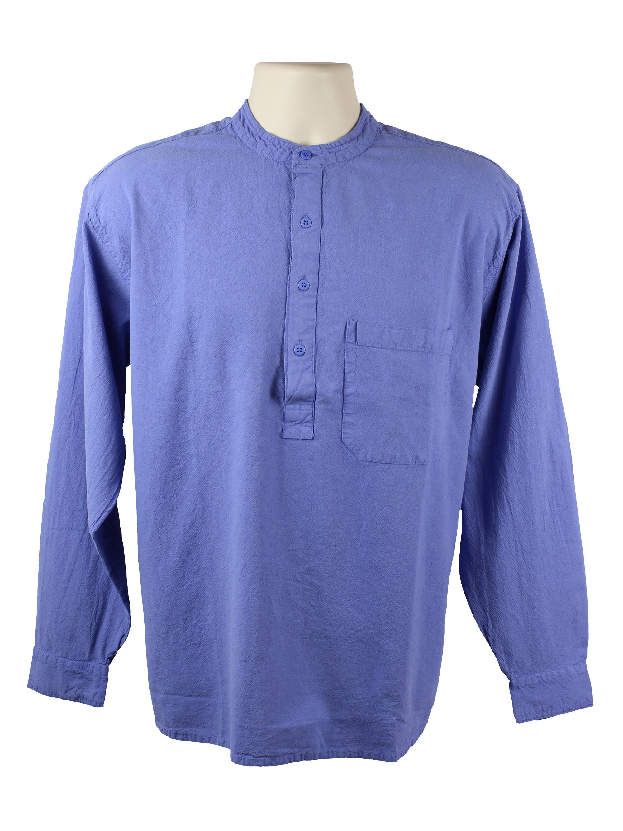Violet Grandad Shirt