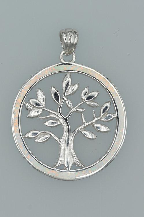 Gilson Opal Tree of Life Pendant