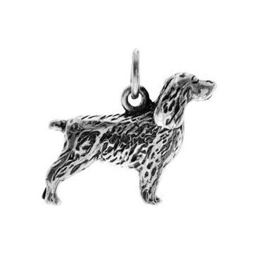 Spaniel Dog Pendant
