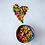 Thumbnail: Rainbow Coconut Shell Bowl