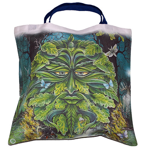 Green Man Tote Bag