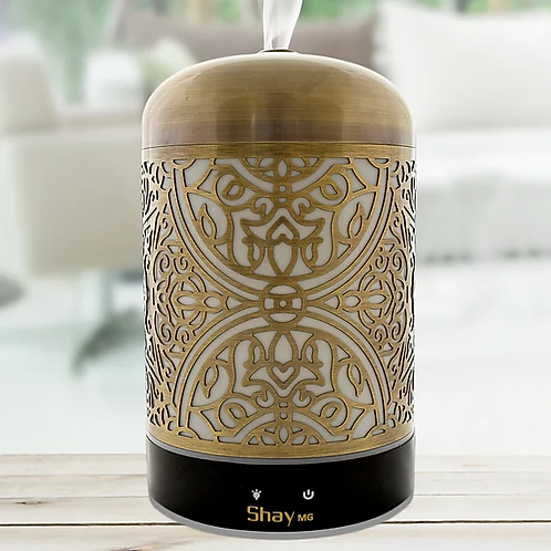 Stained Glass Ultrasonic Aroma Diffuser & Humidifier