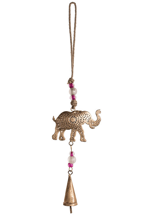 Elephant Mobile with Bell
