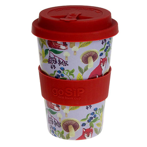 Foxes Rice Husk Cup