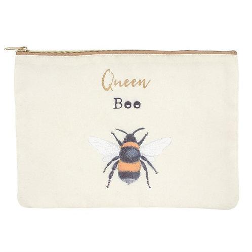 Queen Bee Cosmetic Bag