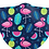 Thumbnail: Tropical Flamingo Reusable Adult Face Covering with Filter Pouch