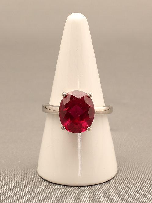 Siberian Ruby Quartz Ring