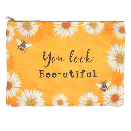 You Look Bee-autiful Cosmetic Bag