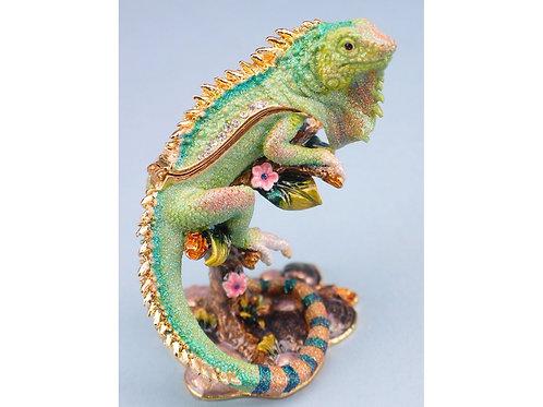 Cloisonne Iguana